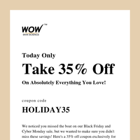 Did You Miss Black Friday Sale? Don't Worry [Pretty Deal Inside]
