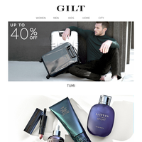 Up to 40% Off TUMI | Beauty & Grooming Essentials