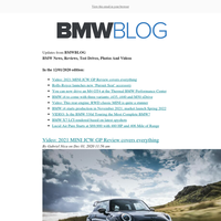Posts from BMWBLOG for 12/01/2020