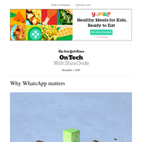 On Tech: Why WhatsApp matters