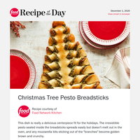 Mouthwatering Christmas Tree Breadsticks