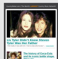 Liv Tyler Didn't Know Steven Tyler Was Her Father