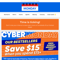 $15 OFF for Cyber Monday!