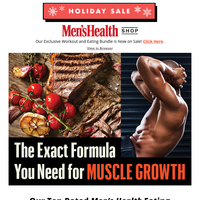 Cyber Weekend Sale! Save 30% On Our Exclusive Men's Health Bundle!