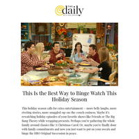 This Is the Best Way to Binge Watch This Holiday Season (Partner)