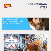 Top Stories This Week on BroadwayWorld 12/1
