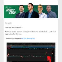 Big trade alert set! Get in today!