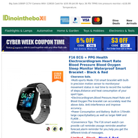 Cyber Week Super Sale:$29.99 Health Smart Watch.See More,Save More.