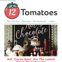 Do You Have A 'Hot Cocoa Bar' In Your Home? You Might Soon!