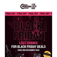 Last Chance on Black Friday Deals