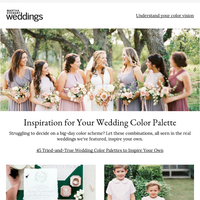 Tried-and-True Wedding Color Palettes to Inspire Your Own