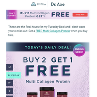 Your FREE Multi Collagen Protein Is Going Away (worth $44.95)