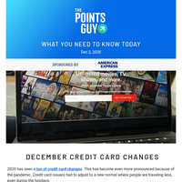 ✈ Latest Credit Card Benefit Changes To Know & More Daily News From TPG ✈