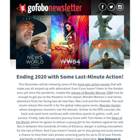 The Gofobo Newsletter - December 2020