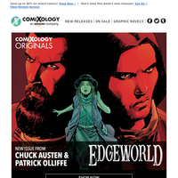 Read Austen & Olliffe's Edgeworld #3 and Justice League: Endless Winter #1. Plus, save up to 90% with great deals on comics!