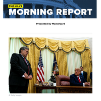 The Hill's Morning Report - Presented by Mastercard - 1/ Barr counters Trump: Justice Department uncovers no election fraud that would alter Biden's win. 2/ McConnell reclaims control over pandemic-relief legislative options as bipartisan lawmaker