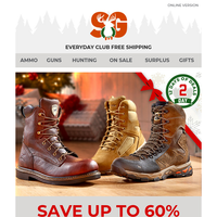 Day 2 Deal > Up To 60% Off Select Footwear