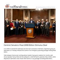 Senators Float $908 Billion Stimulus Compromise