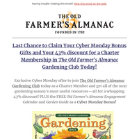 Last Chance: Don't Miss Your Cyber Monday Bonuses!