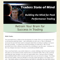 Readying Yourself for the Emotional Storms of Trading