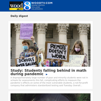 Study: Students falling behind in math during pandemic (02 December 2020, for {EMAIL})