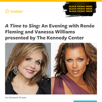 See Vanessa Williams & more perform on the Kennedy Center stage, starting at just $10 — *Black Friday Week deal*