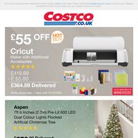 £55 OFF Cricut Maker & Accessories NOW £364.89 | Shop Christmas Decorations
