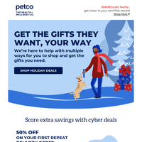 Snuggle with your pet at home and SAVE! 🖱️