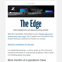 The Edge: Can a College's 'Culture' Actually Build Its Resilience?