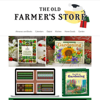 Gifts for the Gardener: Your guide from The Old Farmer!