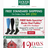 The 12 Days of Dover Deals Are Back and Better Than Ever!