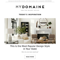 This is the most popular design style in your state