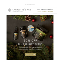 Cyber Week Continues: 30% off all Gift Sets