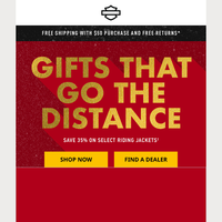 Top gift pick: riding jackets