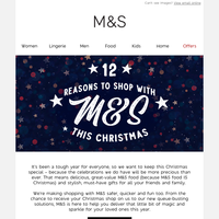 12 reasons to shop with M&S this Christmas