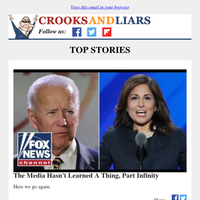 Crooks and Liars Daily Update For 12/02/2020