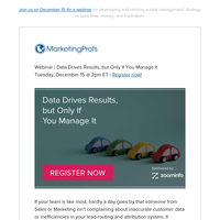 [Webinar] Data Drives Results, but Only If You Manage It