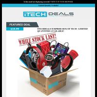 Tech Surprise Box $20 - Limited Quantities!