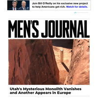 Utah's Mysterious Monolith Vanishes and Another Appears in Europe