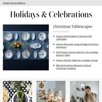 Christmas China Patterns That Are Still Collectible