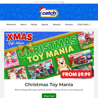 🎁 Christmas TOY Mania: Ride-ons, Love Diana, Laser X & more!