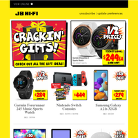 Cracking Christmas Gifts | 1⁄2 Price Garmin Vivoactive 3 Plus Stacks More!