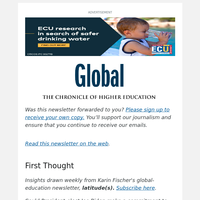 Global: How a New Administration Could Commit to Welcoming International Students