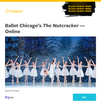 Your next Black Friday Week deal: Save 50% on Ballet Chicago's \