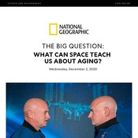 SCIENCE: What space can teach us about aging