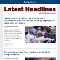KUsports.com Headlines for December 2