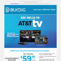 🤯AT&T TV's BEST Offer! Up to $500 in Gift Cards with Activation, Don't Miss This Deal!