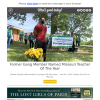 Feel Good Friday: Former Gang Member Now 'Teacher of the Year'