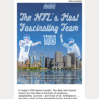 🏈  Introducing The NFL's Most Fascinating Team