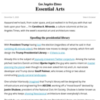 Essential Arts: Inside a fake presidential library